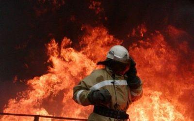 НаСтаврополье полыхает цех кирпичного завода
