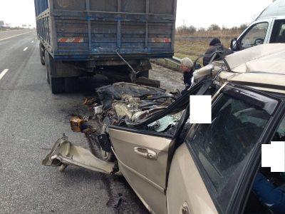 Под Ставрополем встрашном ДТП погибли три человека