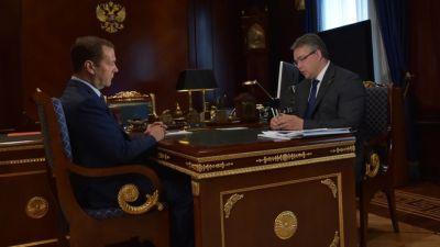 Медведев: экспорт сельхозпродукции начетверть превысил экспорт вооружений