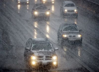 Мокрый снег игололедица придут назамену жаре наСтаврополье