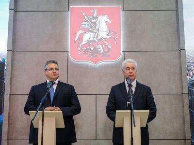 Власти столицы и руководство Ставропольского края подписали соглашение осотрудничестве