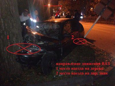Пьяная студентка устроила ДТП вСтаврополе, ееподруга впала вкому