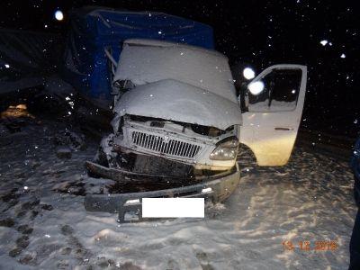 Две «ГАЗели» столкнулись вГеоргиевском районе